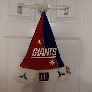 f61d163bd990c0 NFL Accessories | Official New York Giants Santa Hat | Poshmark